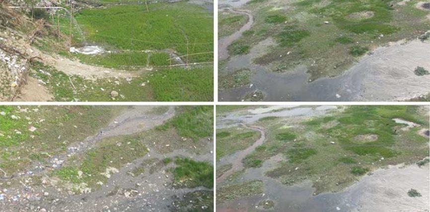 বিষাক্ত হয়ে উঠছে করতোয়া নদীর পানি, অর্থদণ্ডেও কমছে না বর্জ্য ফেলা