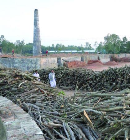 তাড়াশ-রায়গঞ্জে অবৈধ ৪৭টি ইটভাটা,বিপাকে এলাকাবাসী