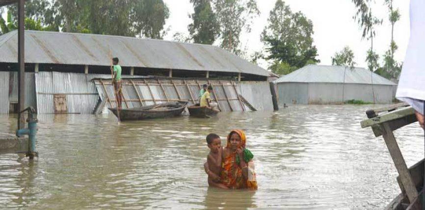 সিরাজগঞ্জ বন্যা পরিস্থিতির অবনতি