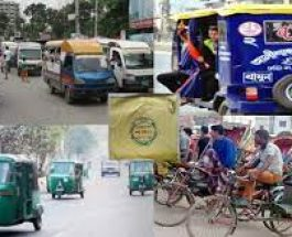 নম্বরপ্লেট ছাড়া অটোরিকশায় সয়লাব মানিকগঞ্জের আঞ্চলিক মহাসড়ক